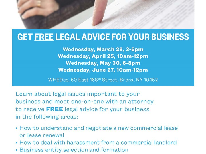 Free Legal Advice for Your Small Business
